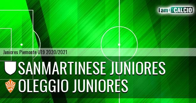 Sanmartinese juniores - Oleggio juniores