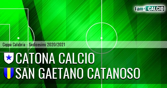 Catona Calcio - San Gaetano Catanoso