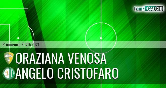 Oraziana Venosa - Angelo Cristofaro
