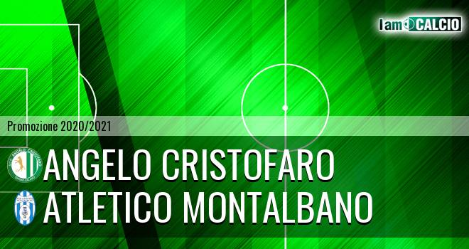 Angelo Cristofaro - Atletico Montalbano