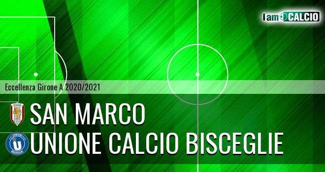San Marco - Unione Calcio Bisceglie