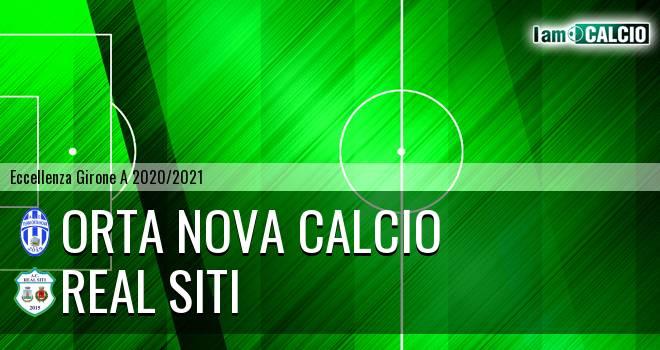 Orta Nova Calcio - Real Siti