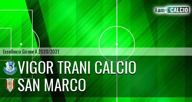Vigor Trani Calcio - San Marco