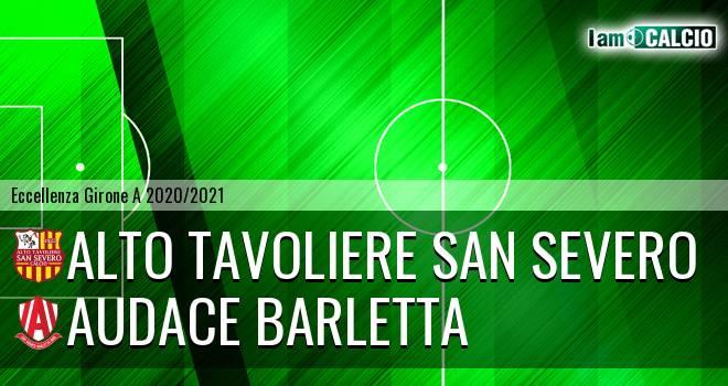 Alto Tavoliere San Severo - Audace Barletta