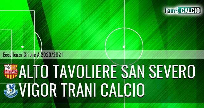 Alto Tavoliere San Severo - Vigor Trani Calcio