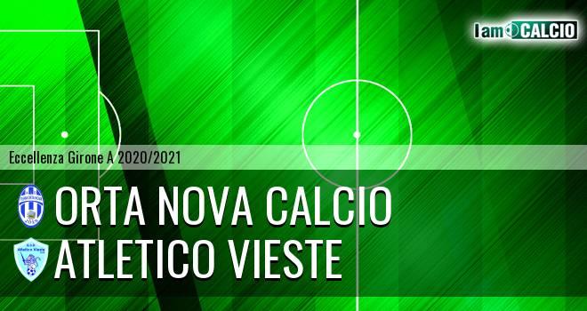 Orta Nova Calcio - Atletico Vieste