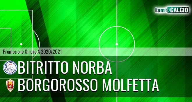 Bitritto Norba - Borgorosso Molfetta