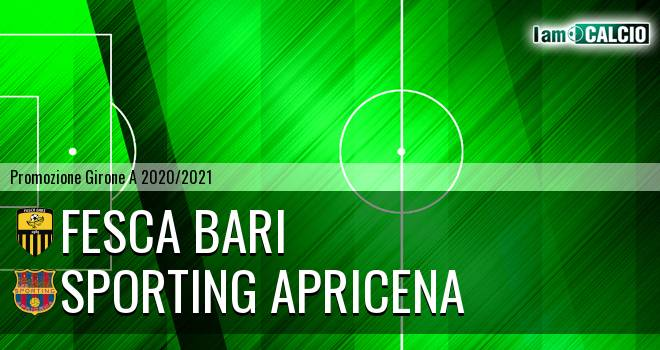 Fesca Bari - Sporting Apricena