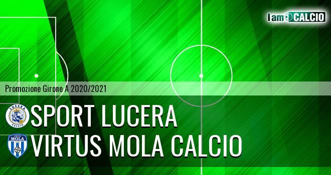 Sport Lucera - Virtus Mola Calcio