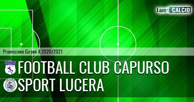 Football Club Capurso - Sport Lucera