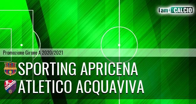 Sporting Apricena - Atletico Acquaviva