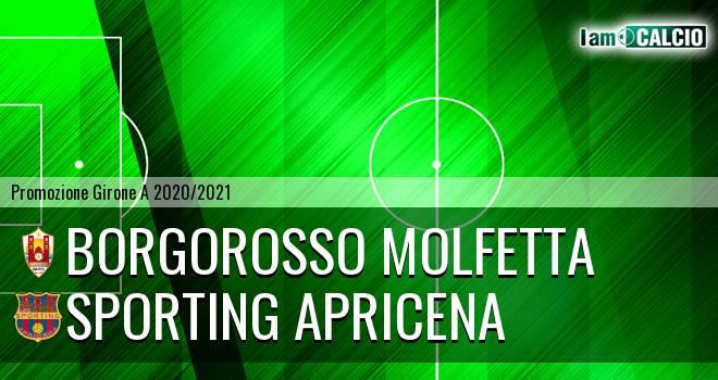 Borgorosso Molfetta - Sporting Apricena