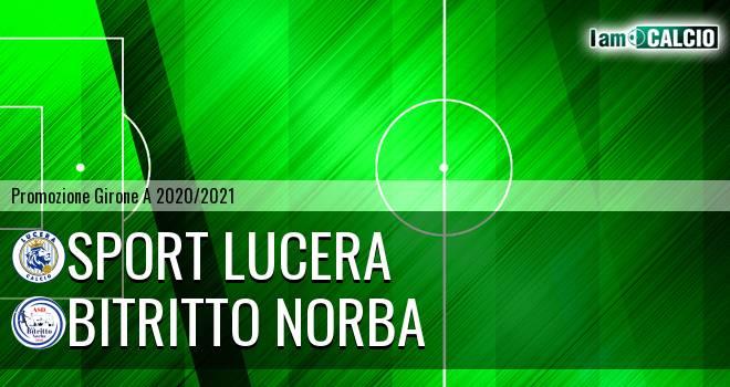 Sport Lucera - Bitritto Norba