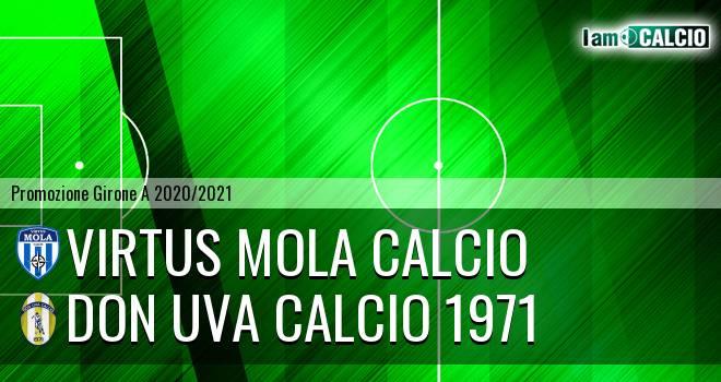 Virtus Mola Calcio - Don Uva Calcio 1971