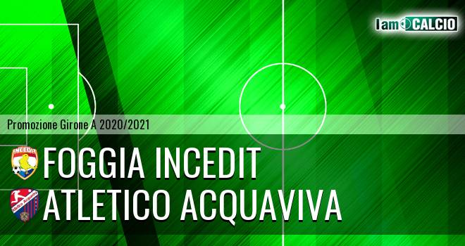 Foggia Incedit - Atletico Acquaviva