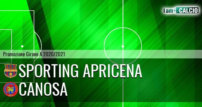 Sporting Apricena - Canosa
