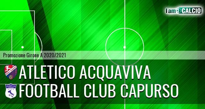 Atletico Acquaviva - Football Club Capurso