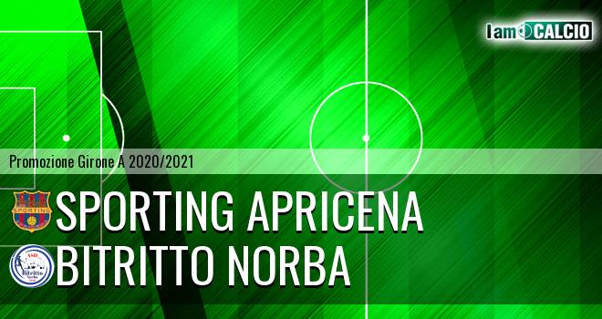 Sporting Apricena - Bitritto Norba