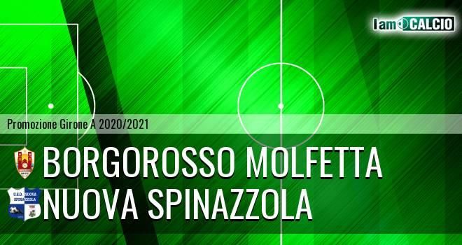 Borgorosso Molfetta - Nuova Spinazzola