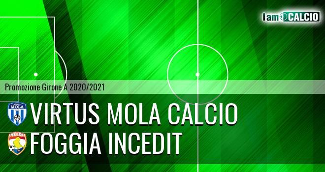 Virtus Mola Calcio - Foggia Incedit