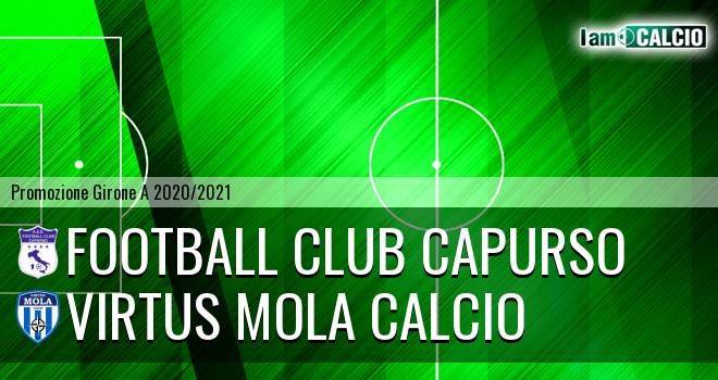 Football Club Capurso - Virtus Mola Calcio