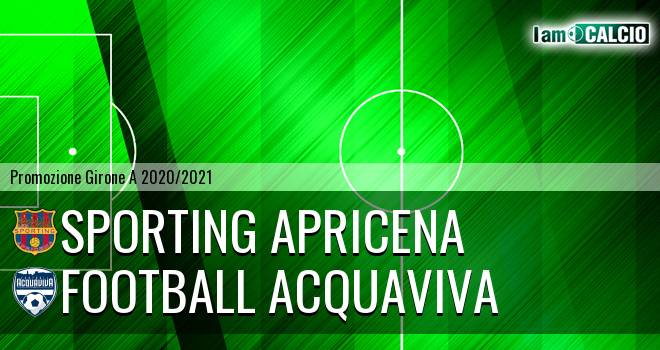 Sporting Apricena - Football Acquaviva