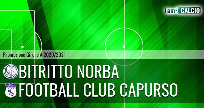 Bitritto Norba - Football Club Capurso