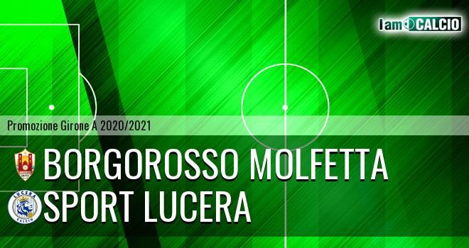 Borgorosso Molfetta - Sport Lucera