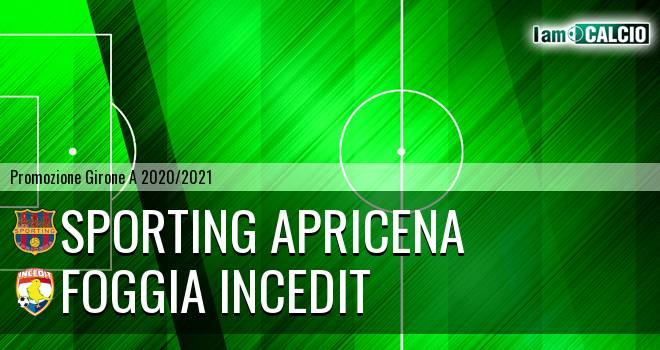 Sporting Apricena - Foggia Incedit