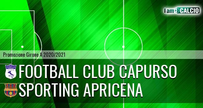 Football Club Capurso - Sporting Apricena
