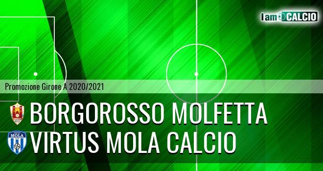 Borgorosso Molfetta - Virtus Mola Calcio