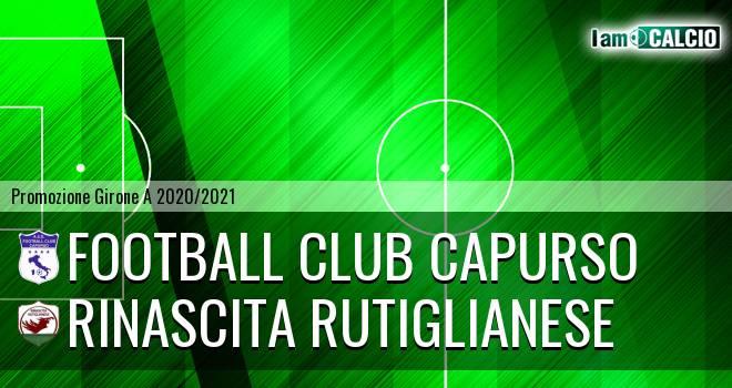Football Club Capurso - Rinascita Rutiglianese