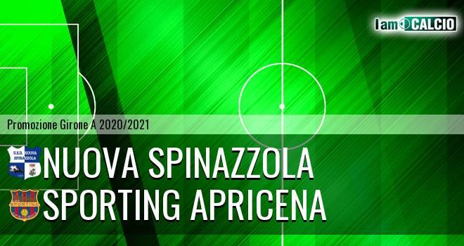 Nuova Spinazzola - Sporting Apricena