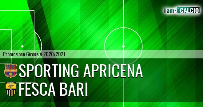 Sporting Apricena - Fesca Bari