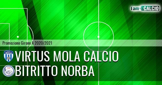 Virtus Mola Calcio - Bitritto Norba