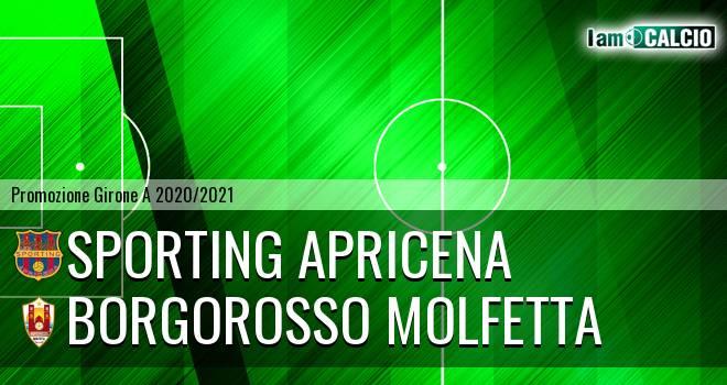 Sporting Apricena - Borgorosso Molfetta