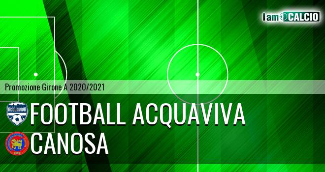 Football Acquaviva - Canosa