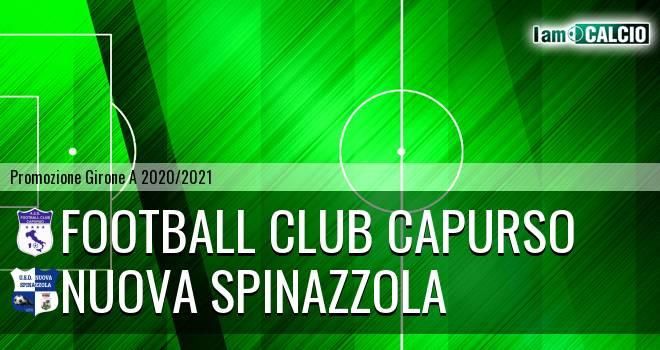 Football Club Capurso - Nuova Spinazzola