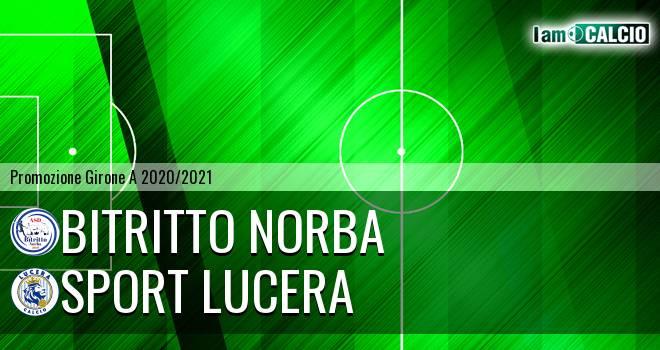 Bitritto Norba - Sport Lucera
