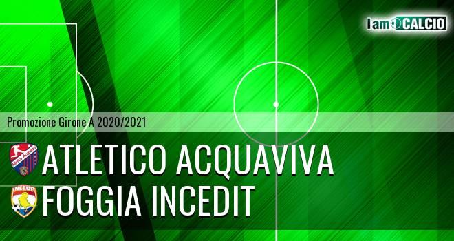 Atletico Acquaviva - Foggia Incedit