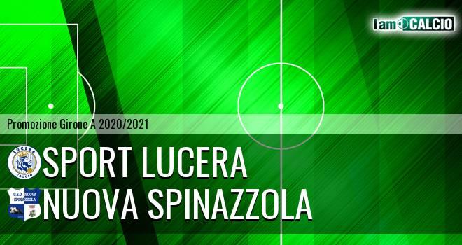 Sport Lucera - Nuova Spinazzola