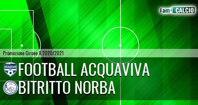 Football Acquaviva - Bitritto Norba