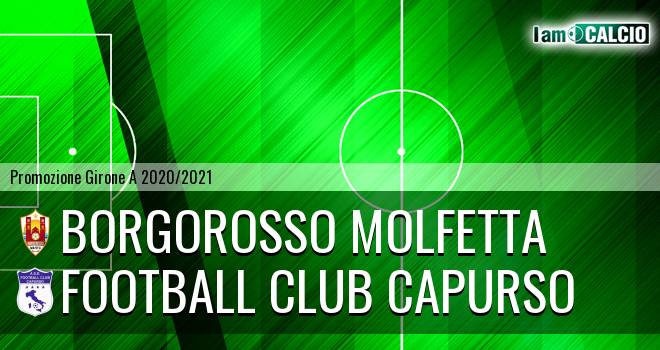 Borgorosso Molfetta - Football Club Capurso