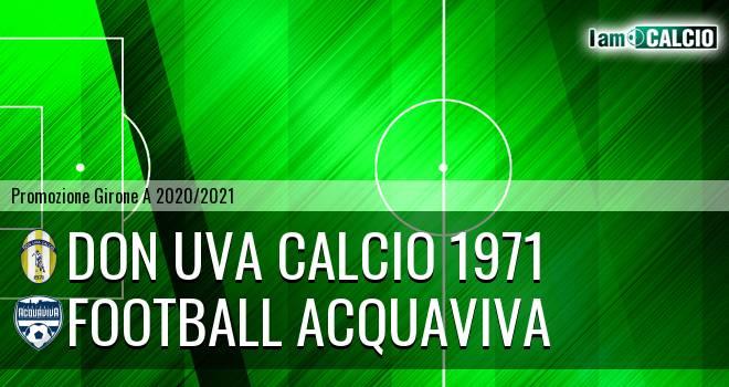Don Uva Calcio 1971 - Football Acquaviva