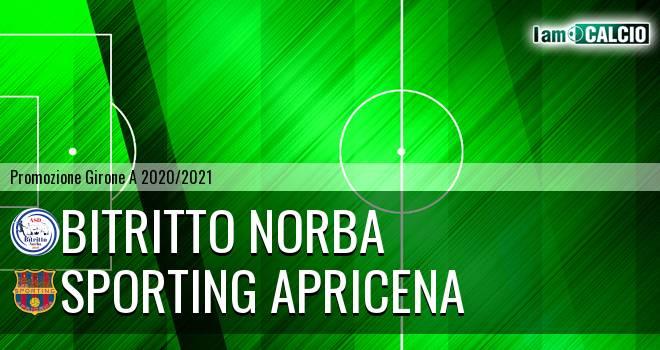 Bitritto Norba - Sporting Apricena