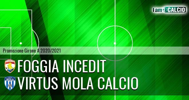 Foggia Incedit - Virtus Mola Calcio