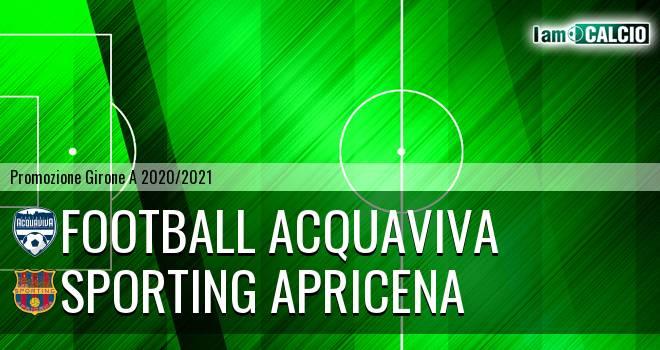 Football Acquaviva - Sporting Apricena