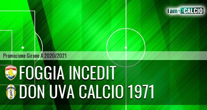 Foggia Incedit - Don Uva Calcio 1971