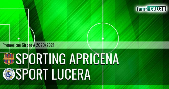 Sporting Apricena - Sport Lucera