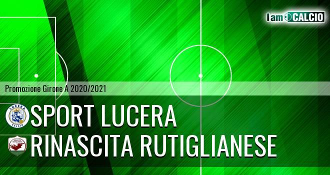 Sport Lucera - Rinascita Rutiglianese